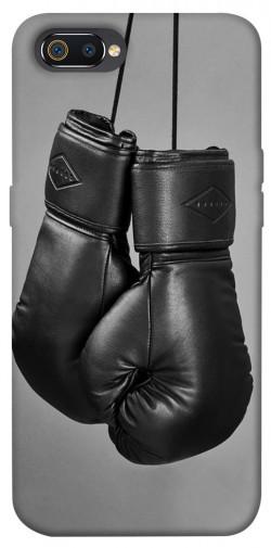 Чехол itsPrint Черные боксерские перчатки для Realme C2
