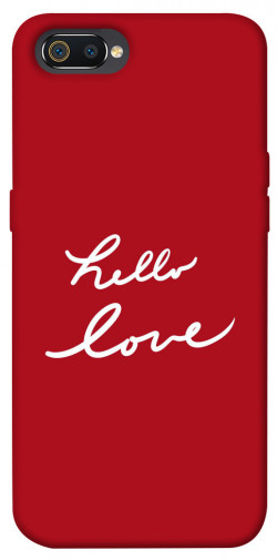 Чехол iPrint Hello love для Realme C2