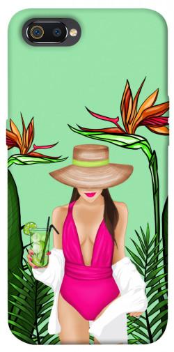 Чехол itsPrint Tropical girl для Realme C2