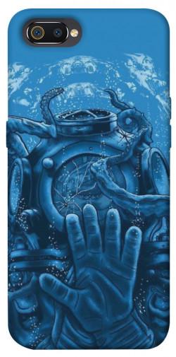 Чехол itsPrint Astronaut art для Realme C2