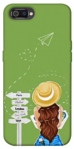 Чехол itsPrint Travel girl для Realme C2