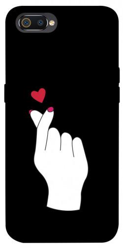 Чехол iPrint Сердце в руке для Realme C2