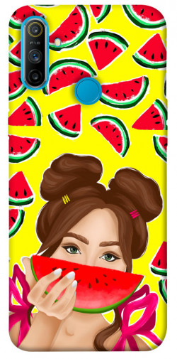 Чехол itsPrint Watermelon girl для Realme C3