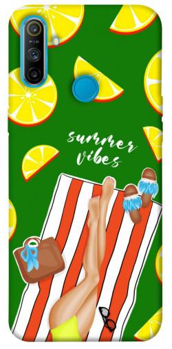 Чехол itsPrint Summer girl для Realme C3