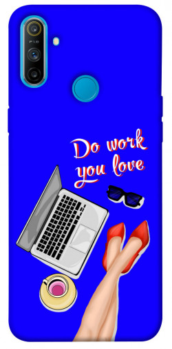Чехол itsPrint Do work you love для Realme C3