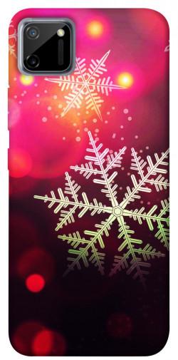 Чехол iPrint Снежинки для Realme C11