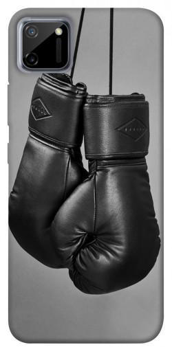 Чехол itsPrint Черные боксерские перчатки для Realme C11