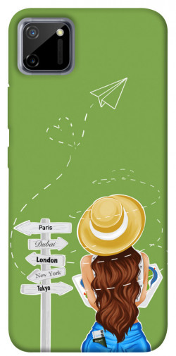 Чехол itsPrint Travel girl для Realme C11
