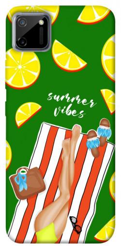 Чехол itsPrint Summer girl для Realme C11