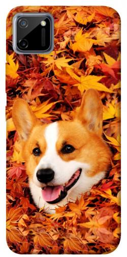 Чехол itsPrint Корги в листьях для Realme C11
