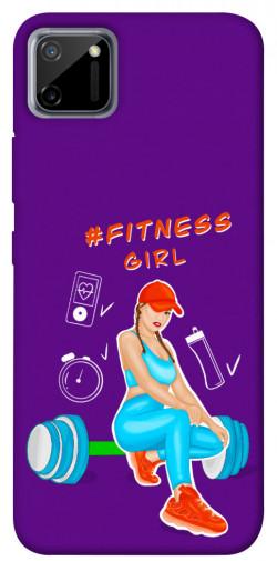 Чехол itsPrint Fitness girl для Realme C11