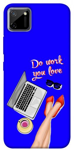 Чехол itsPrint Do work you love для Realme C11