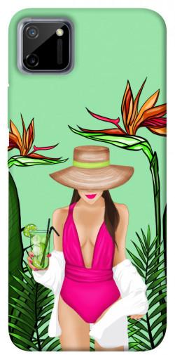 Чехол itsPrint Tropical girl для Realme C11