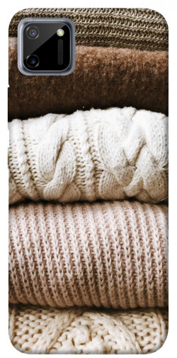 Чехол itsPrint Knitted aesthetics для Realme C11