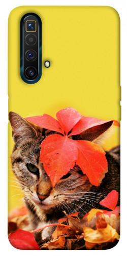 Чехол itsPrint Осенний котик для Realme X3 SuperZoom
