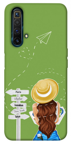Чехол itsPrint Travel girl для Realme X3 SuperZoom