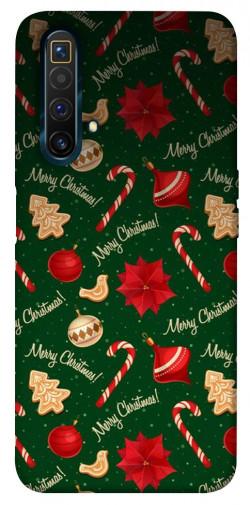 Чехол iPrint Merry Christmas для Realme X3 SuperZoom