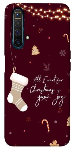 Чехол iPrint Новогоднее пожелание для Realme X3 SuperZoom