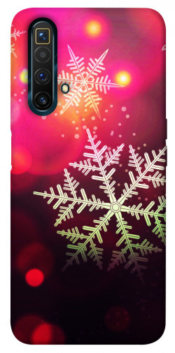 Чехол iPrint Снежинки для Realme X3 SuperZoom