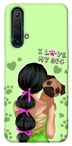 Чехол itsPrint Love my dog для Realme X3 SuperZoom