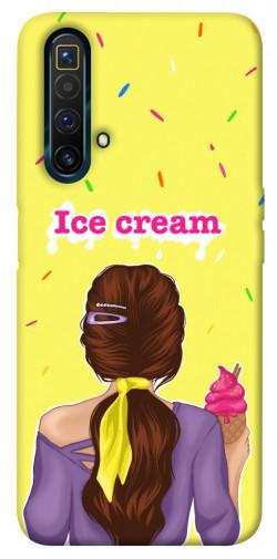 Чехол itsPrint Ice cream girl для Realme X3 SuperZoom