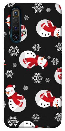 Чехол iPrint Снеговики для Realme X3 SuperZoom