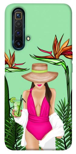 Чехол itsPrint Tropical girl для Realme X3 SuperZoom