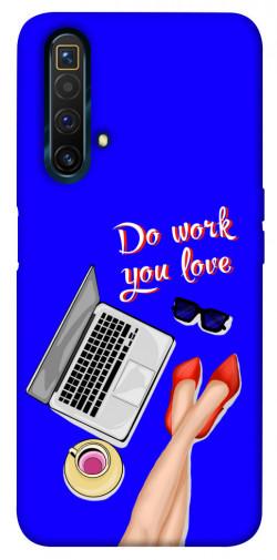 Чехол itsPrint Do work you love для Realme X3 SuperZoom
