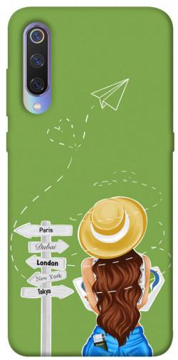 Чехол itsPrint Travel girl для Xiaomi Mi 9