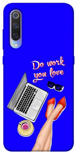 Чехол itsPrint Do work you love для Xiaomi Mi 9