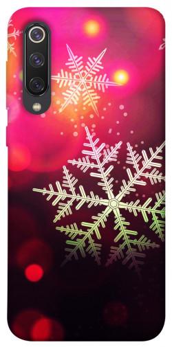 Чехол iPrint Снежинки для Xiaomi Mi 9 SE