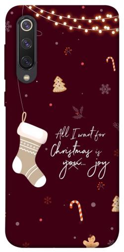 Чехол iPrint Новогоднее пожелание для Xiaomi Mi 9 SE