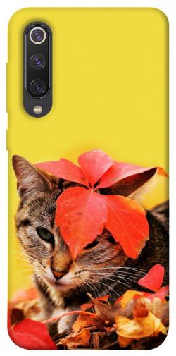 Чехол itsPrint Осенний котик для Xiaomi Mi 9 SE