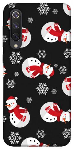Чехол iPrint Снеговики для Xiaomi Mi 9 SE