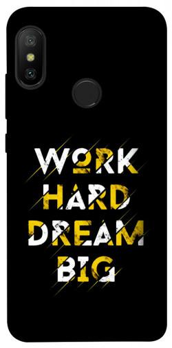 Чехол itsPrint Work hard для Xiaomi Mi A2 Lite / Xiaomi Redmi 6 Pro