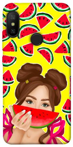 Чехол itsPrint Watermelon girl для Xiaomi Mi A2 Lite / Xiaomi Redmi 6 Pro