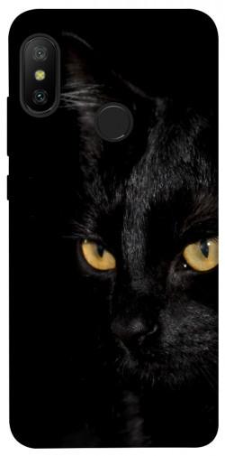 Чехол itsPrint Черный кот для Xiaomi Mi A2 Lite / Xiaomi Redmi 6 Pro