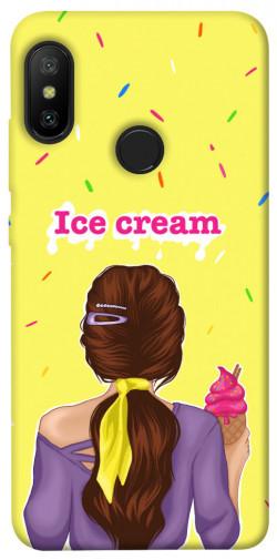 Чехол itsPrint Ice cream girl для Xiaomi Mi A2 Lite / Xiaomi Redmi 6 Pro