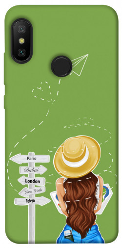 Чехол itsPrint Travel girl для Xiaomi Mi A2 Lite / Xiaomi Redmi 6 Pro