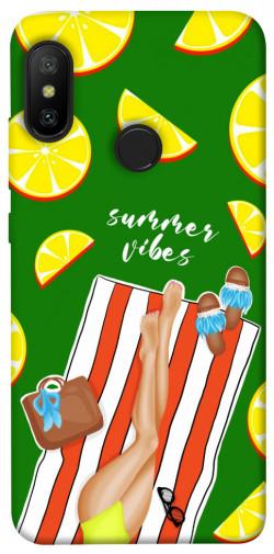 Чехол itsPrint Summer girl для Xiaomi Mi A2 Lite / Xiaomi Redmi 6 Pro