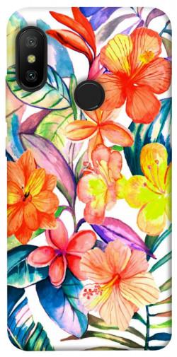 Чехол itsPrint Цветочный коктейль для Xiaomi Mi A2 Lite / Xiaomi Redmi 6 Pro