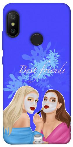 Чехол itsPrint Best friends для Xiaomi Mi A2 Lite / Xiaomi Redmi 6 Pro