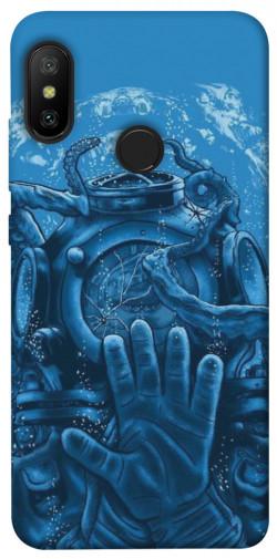 Чехол itsPrint Astronaut art для Xiaomi Mi A2 Lite / Xiaomi Redmi 6 Pro