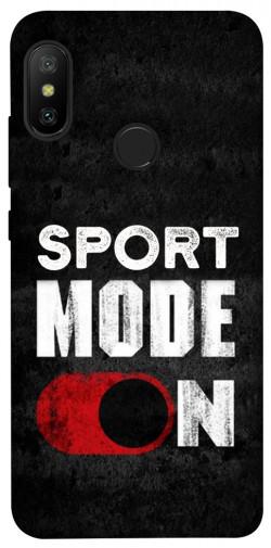 Чехол itsPrint Sport mode on для Xiaomi Mi A2 Lite / Xiaomi Redmi 6 Pro