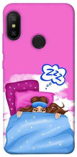 Чехол itsPrint Sleepу girl для Xiaomi Mi A2 Lite / Xiaomi Redmi 6 Pro