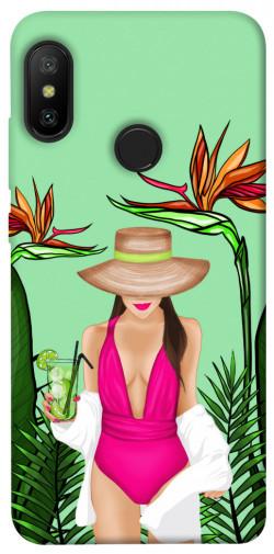Чехол itsPrint Tropical girl для Xiaomi Mi A2 Lite / Xiaomi Redmi 6 Pro