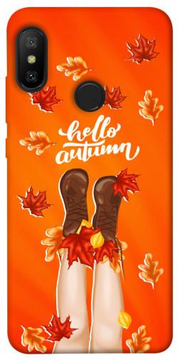 Чехол itsPrint Hello autumn для Xiaomi Mi A2 Lite / Xiaomi Redmi 6 Pro