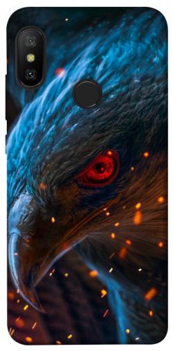 Чехол itsPrint Огненный орел для Xiaomi Mi A2 Lite / Xiaomi Redmi 6 Pro