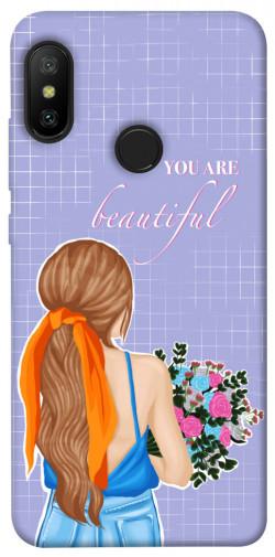 Чехол itsPrint You are beautiful для Xiaomi Mi A2 Lite / Xiaomi Redmi 6 Pro