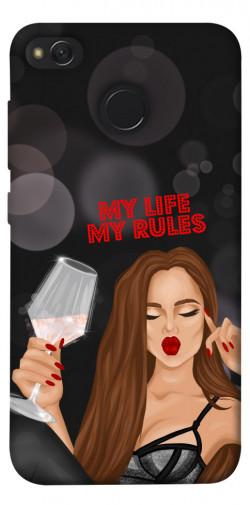 Чехол itsPrint My life my rules для Xiaomi Redmi 4X